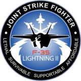 logo programma jsf cacciabombardieri f35